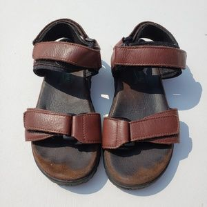 EASY SPIRIT Brown Sandals, 6.5 8/2A